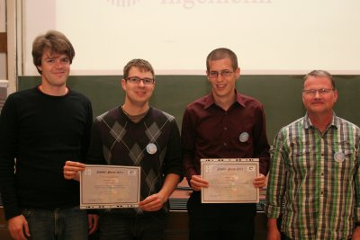 Lecture Award Winners 2011
